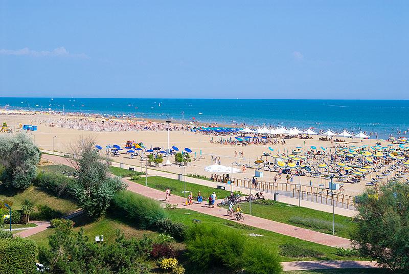 La spiaggia di Bibione