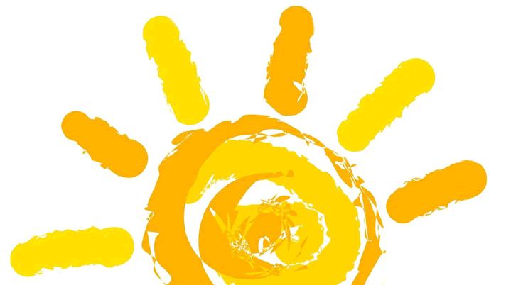 Die Sonne: Logo von Bibione